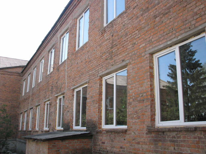 Школа-интернат, бывший детский дом, Ромны. Деревские в детдоме. Ромны: детский дом и школа-интернат.