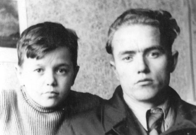 Юрко и Гена Деревские - родные братья. Деревские. Из семейных архивов.