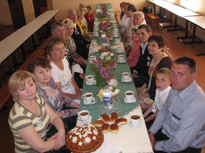 Деревские - гости в родной школе № 2. 2012.