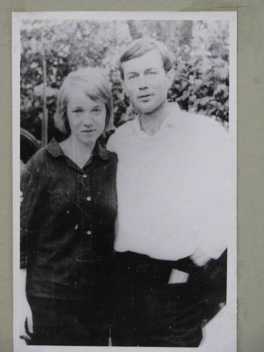Катя и Саша (большой). Деревские. Из семейных архивов.