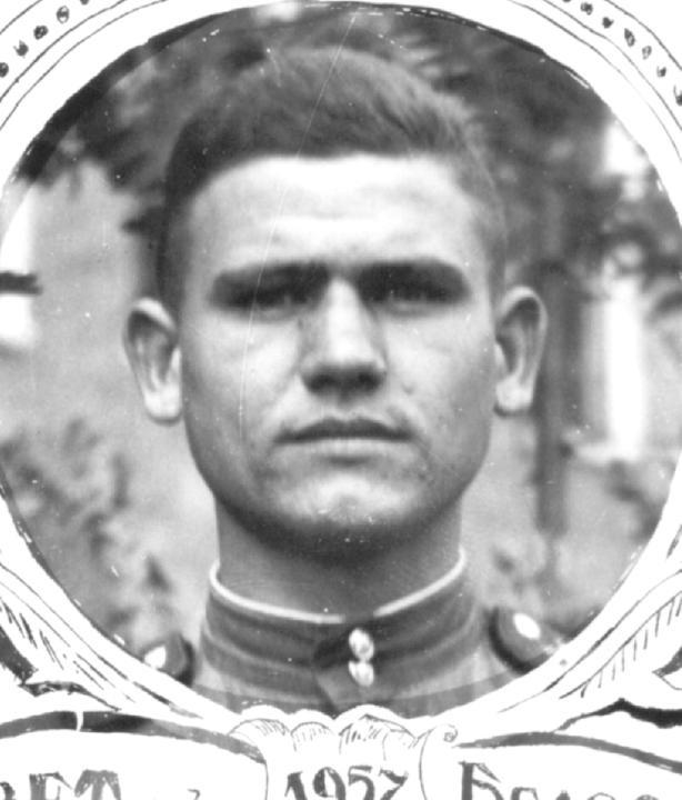 Вениамин Деревский - солдат. Деревские. Из семейных архивов..