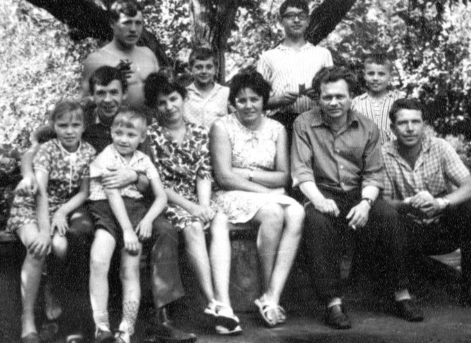 1969. Встреча Деревских - снова вместе.