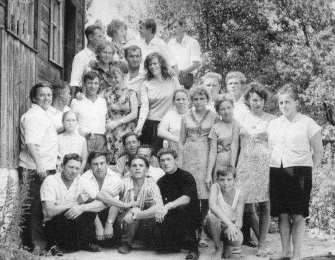 1972. Встреча Деревских - у материнского порога.