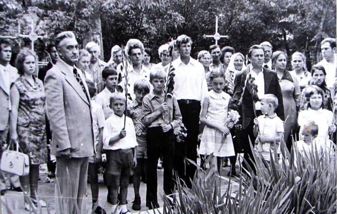 1977. Встреча Деревских.