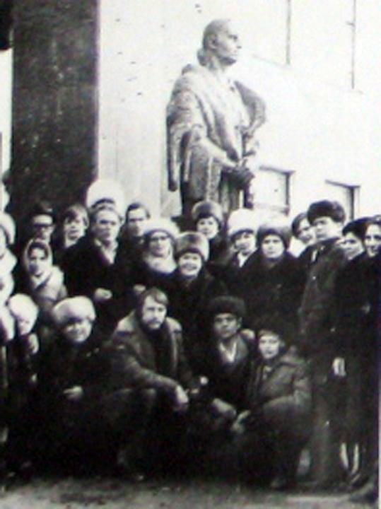 1982. Встреча Деревских. Открытие Памятника.