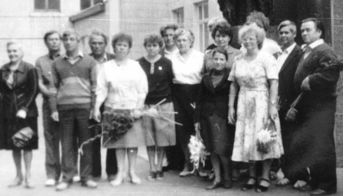 1990. Встреча Деревских - поколение дети Мамы.