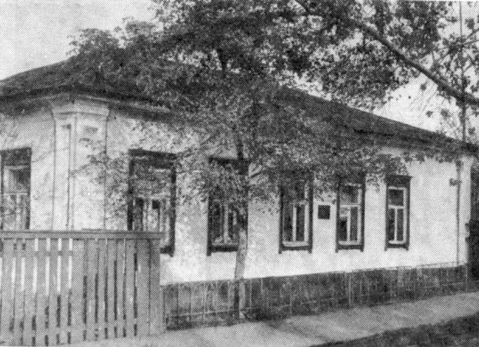 Дом детства в Ромнах. Деревские. Мама. Отец. Дети.