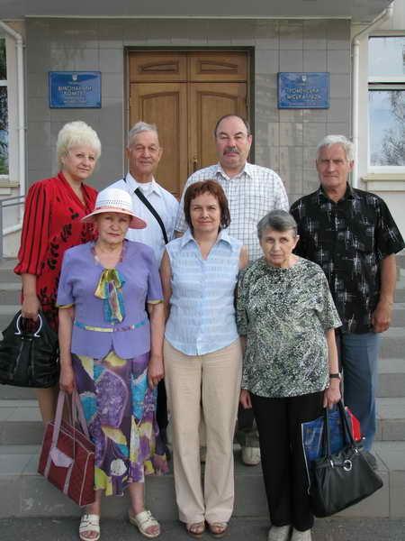 2011. Встреча Деревских с мэром города Ромны.