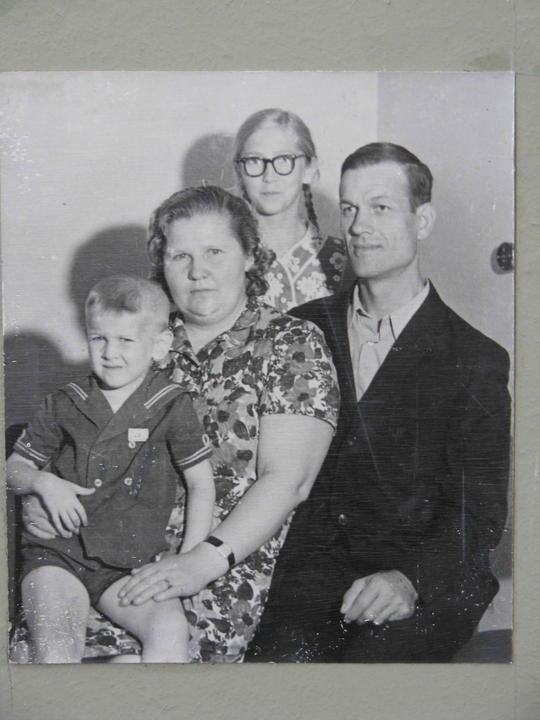Деревские - семья Юрия.