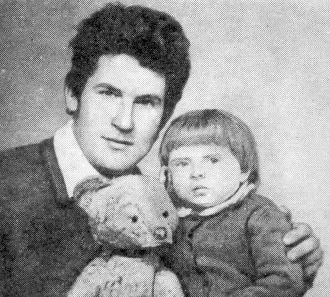 Валерий с дочерью Наташей. Деревские. Мама. Отец. Дети.