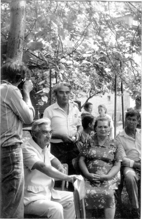 Гена рассказывает будущим педагогам о наказании за курение. 1987 год.