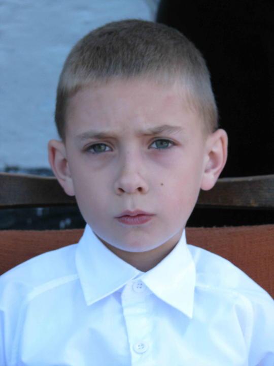 Артём, правнук - внук Валерия. 2012 год.