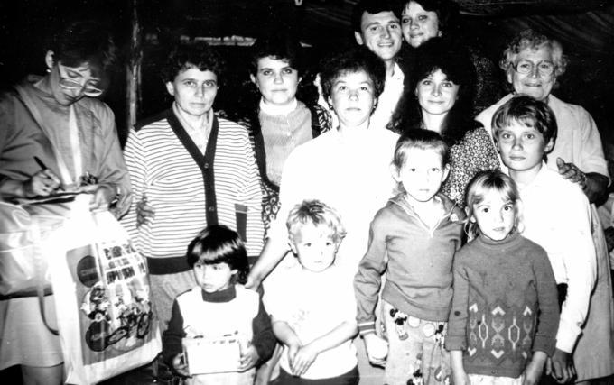 Деревские - дети, внуки, правнуки. 1990 год.