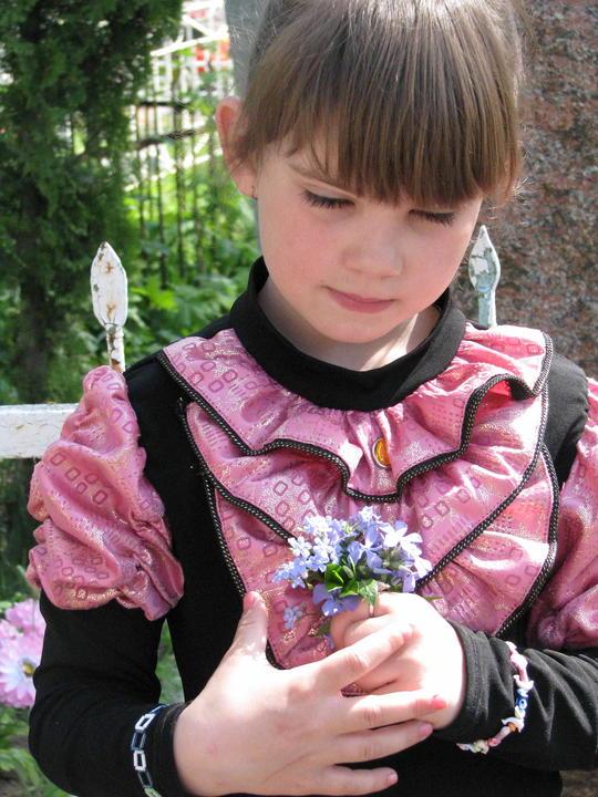 Настя, правнучка - внучка Валерия. 2011 год.