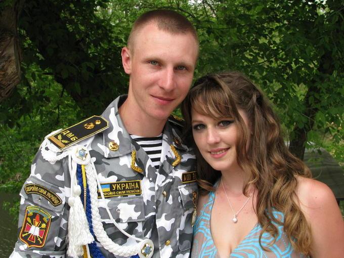 Олег и Лена Рудейко, правнуки - внук Валерия с женой.