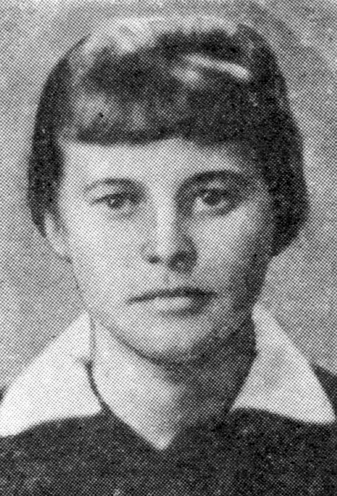 Оля Деревская, 1972 год.