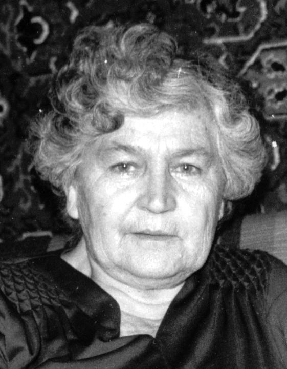 Панна Емельяновна Горячева-Деревская. 1987 год.