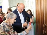 Відкриття меморіального куточка Матері-героїні О.А.Деревської